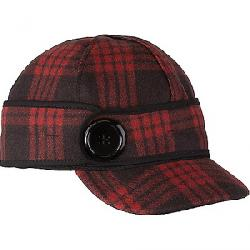 Stormy Kromer Button Up Cap Black/Red Tartan