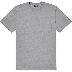 Filson Men's Outfitter Solid One-Pocket SS T-Shirt Grey Heather