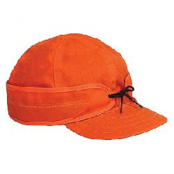 Stormy Kromer Waxed Cotton Cap Blaze Orange