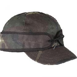 Stormy Kromer Waxed Cotton Cap Woodland Camo