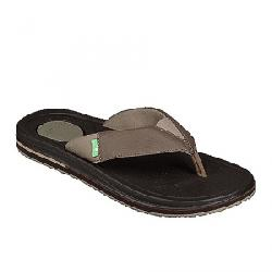 Sanuk Men's Beer Cozy 3 Sandal Brown