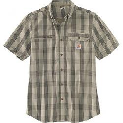 Carhartt Men's Force Ridgefield Plaid SS Shirt Burnt Olive