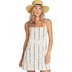 Billabong Women's Straight Around Dress White Cap
