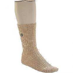 Birkenstock Men's Cotton Slub Sock Beige / White