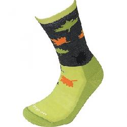 Lorpen Women's Light Hiker Sock Charcoal/Pistachio