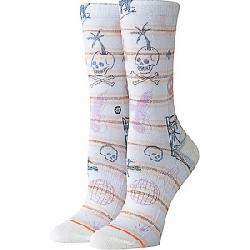 Stance Women's Hippie Moshpit Crew Sock Off White