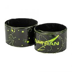 Nathan Reflex Bands- Aliens Hi-Viz Yellow