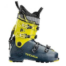 Tecnica Men's Zero G Tour Ski Boot Dark Avio/Yellow