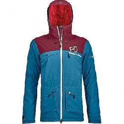 Ortovox Women's 2L Swisswool Andermatt Jacket Blue Sea