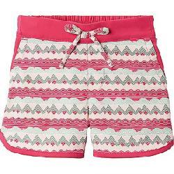Columbia Toddler Girls' Sandy Shores Boardshort Cactus Pink Striped Peaks