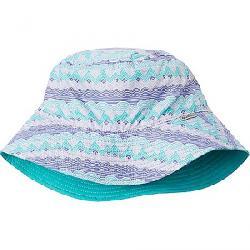 Columbia Youth Pixel Grabber Bucket Hat African Violet Stripe/Bright Aqua/Afr