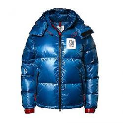Topo Designs Women's Big Puffer Jacket Blue