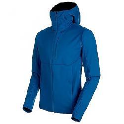 Mammut Men's Ultimate V SO Hooded Jacket Sapphire / Wing Teal Melange