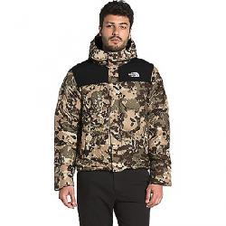 The North Face Men's Balham Down Jacket Burnt Olive Green Digi Topo Print