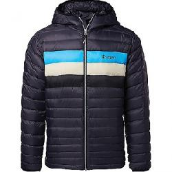 Cotopaxi Men's Fuego Down Hooded Jacket Graphite Stripes