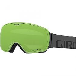 Giro Men's Agent Goggle Grey Wordmark/Vivid Emerald/Vivid Infrared