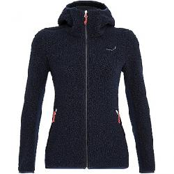Salewa Women's Fanes Shearling WO Jacket Navy Melange