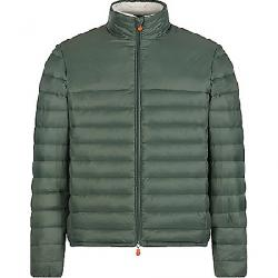 Save The Duck Men's Giga Non-Hooded Sherpa Jacket Thyme Green