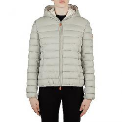 Save The Duck Women's Giga Sherpa Jacket Frost Grey