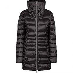 Save The Duck Women's Iris Faux Fur Collar Coat Black