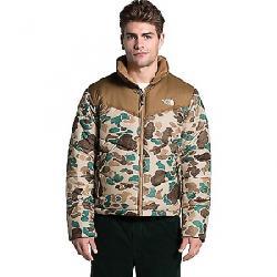 The North Face Men's Saikuru Jacket Hawthorne Khaki Dist Duck Camo Print/Utility Brown