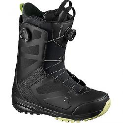Salomon Men's Dialogue Dual Boa Snowboard Boot Black / Black / Butterfly