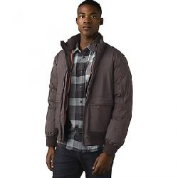 Prana Men's Baadwin Bomber Jacket Black Olive Heather