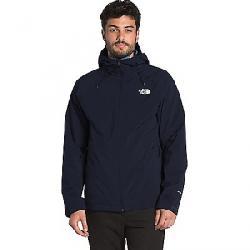 The North Face Men's ThermoBall Eco Triclimate Jacket Aviator Navy / Mallard Blue Abstract Ikat Print