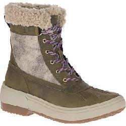 Merrell Women's Haven Mid Lace Polar Waterproof Boot Olive