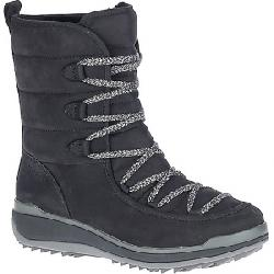 Merrell Women's Snowcreek Cozy Leather Polar Waterproof Boot Black