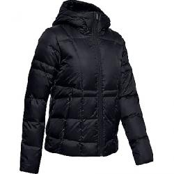 Under Armour Women's Armour Down Hooded Jacket Black / Jet Grey