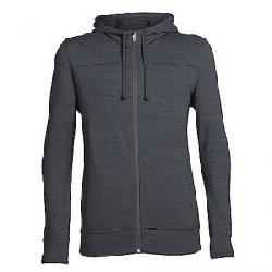 Icebreaker Men's Shifter LS Zip Hoody Jet Heather