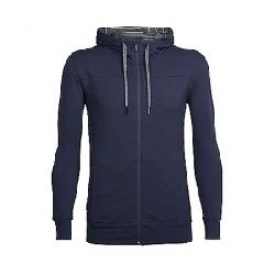 Icebreaker Men's Shifter LS Zip Hoody Midnight Navy Blue