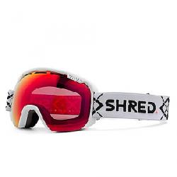 Shred Smartefy Snow Goggles Bigshow White CBL/Blast Mirror