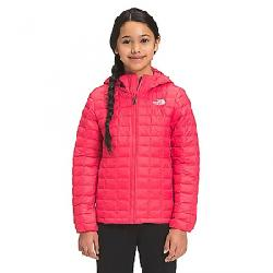 The North Face Girls' ThermoBall Eco Hoodie Paradise Pink