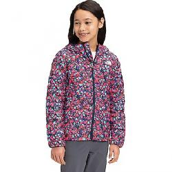 The North Face Girls' ThermoBall Eco Hoodie Paradise Pink Wildflower Print
