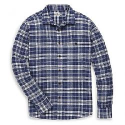 Faherty Men's Stretch Seaview Flannel Shirt Navigator Plaid