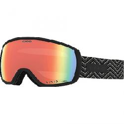 Giro Women's Facet Goggle Black Zag / Vivid Infrared