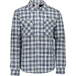 Obermeyer Men's Avery Flannel Jacket Icy Mey Plaid
