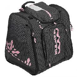 Kulkea Powder Trekker Ski Boot Bag Black/White/Pink