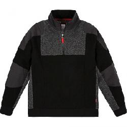 Topo Designs Men's Global 1/4 Zip Sweater Black