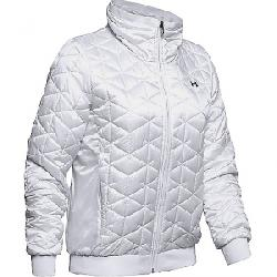 Under Armour Women's Coldgear Reactor Performance Jacket Onyx White / Black