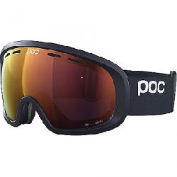 POC Sports Fovea Mid Clarity Goggle Uranium Black/Spektris Orange