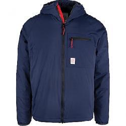 Topo Designs Men's Puffer Hoodie Jacket Navy