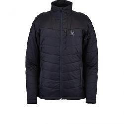 Spyder Men's Glissade Hybrid Insulator Jacket Black