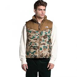 The North Face Men's Saikuru Vest Hawthorne Khaki Dist Duck Camo Print/Utility Brown