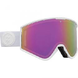 Electric Kleveland+ Goggle Winter 20/21 - Matte White/Brose/Pink Chrome