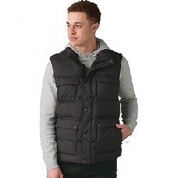 Prana Men's Red Slate Vest Charcoal