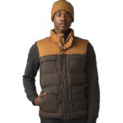 Prana Men's Red Slate Vest Walnut Colorblock