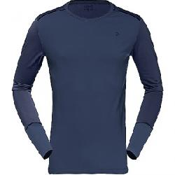 Norrona Men's Wool Round Neck Baselayer Signal Blue